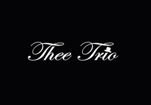 Thee Trio rogo 額BLK