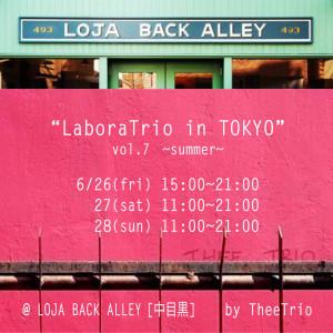 LaboraTrio in TOKYO 7